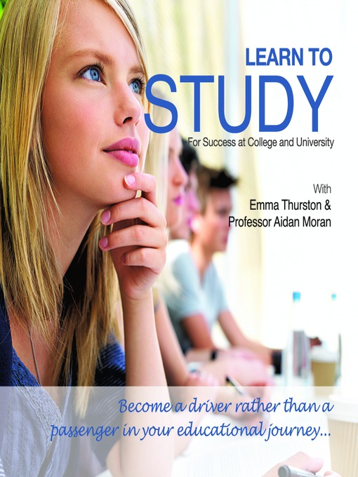 Learn to Study (MP3): For Success at College and University